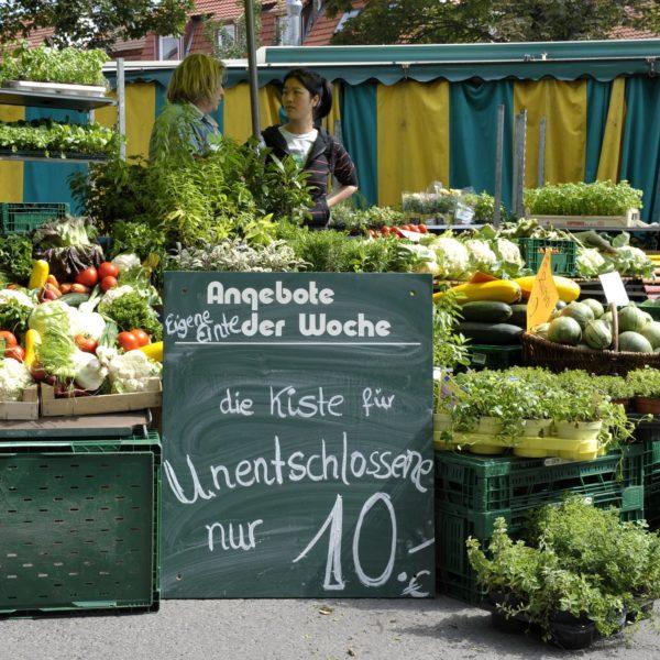 Ein Bummel über den Göttinger Wochenmarkt