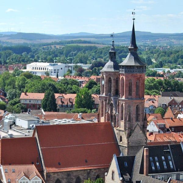 Blickwechsel: Göttingen von oben