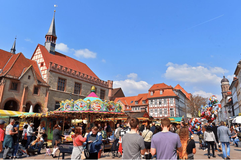 Event 2021 Göttingen zieht an Altes Rathaus