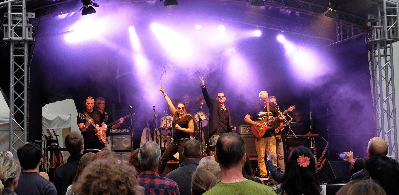 Bühne bei der Nacht der Kultur in Göttingen