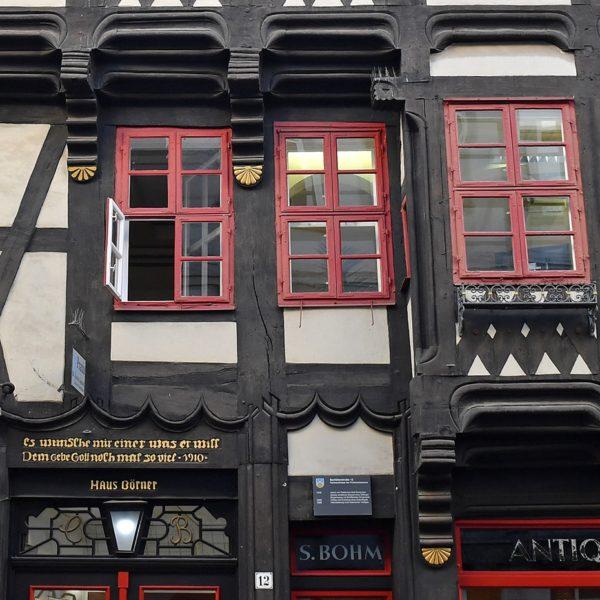 Göttinger Fachwerk: Abel Bornemanns Haus