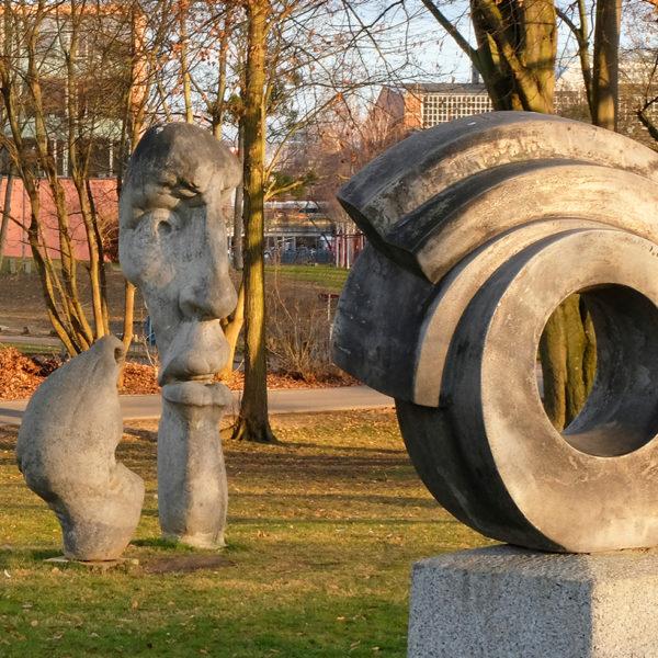 Skulpturen in der Göttinger Leineaue