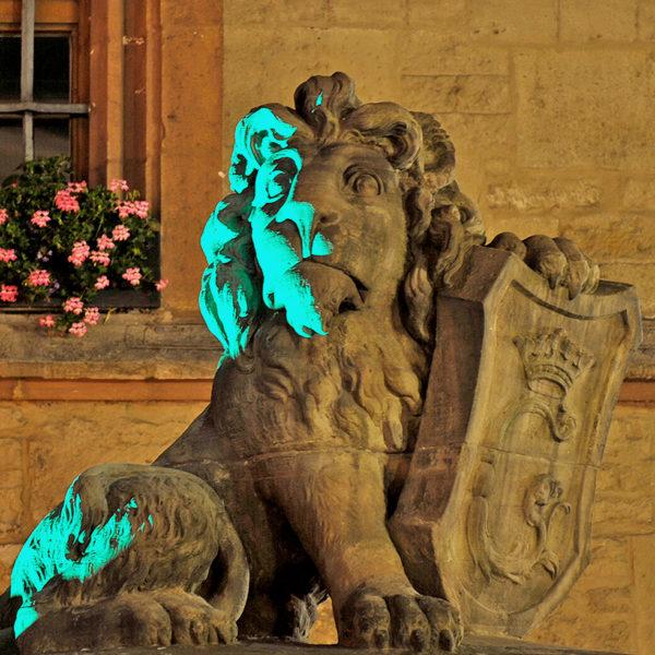 Der Löwe macht's