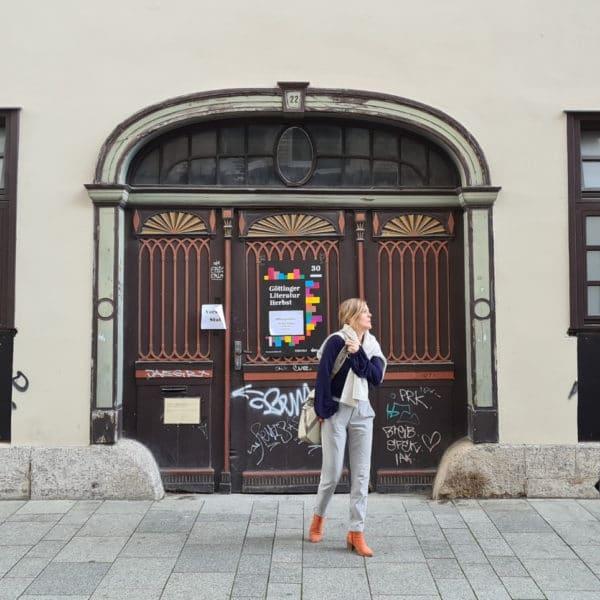 Literatur für alle: Auf einen Tee mit Anja Johannsen